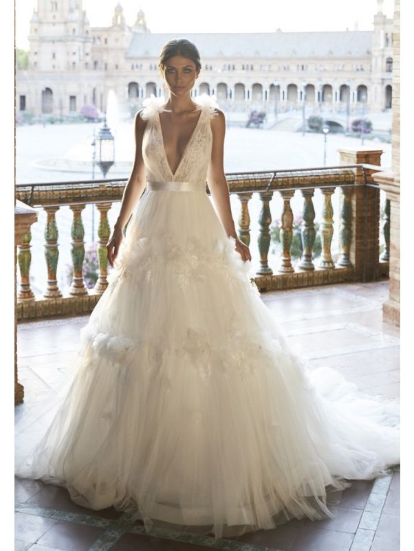 Floral Blossom Ball Gown