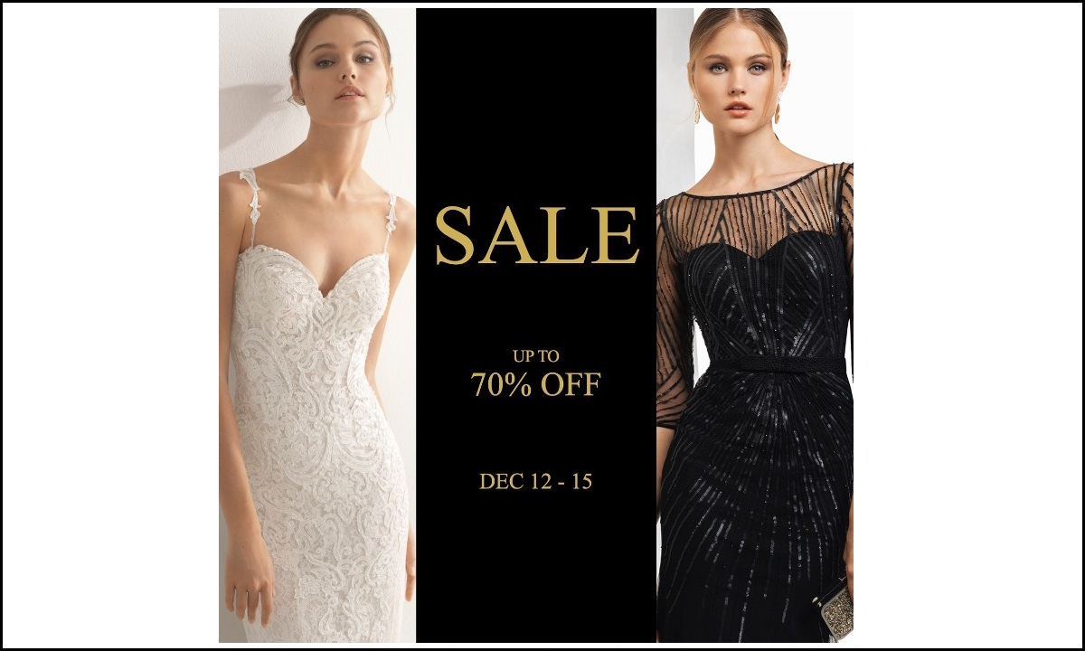 SALE | Up to 70% OFF | DEC 12 - 15